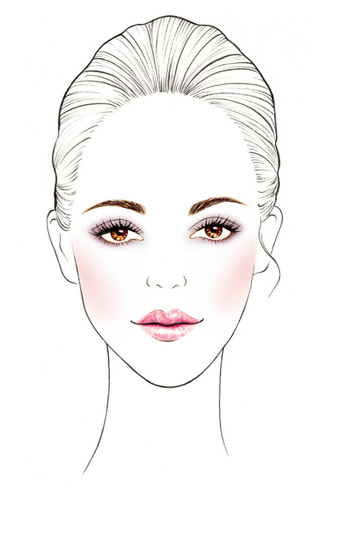 Spring 2014 Makeup Chart for Celebrity Make-up Artist Elizabeth Ulloa